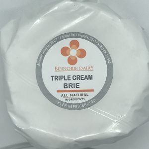 Luscious creamy triple cream brie