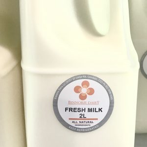 Farm fresh unhomogenised milk