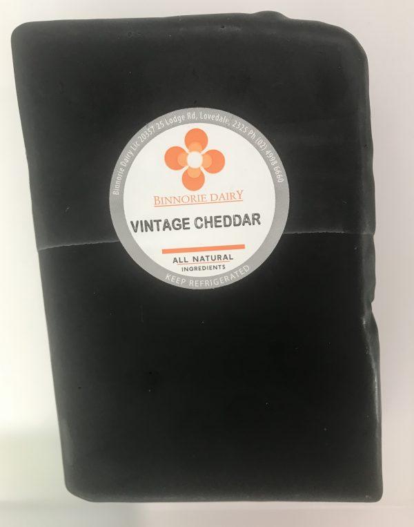 Bitey vintage aged cheddar sharp