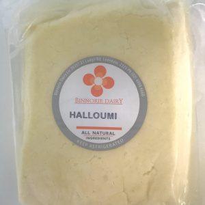 Halloumi fried squeaky